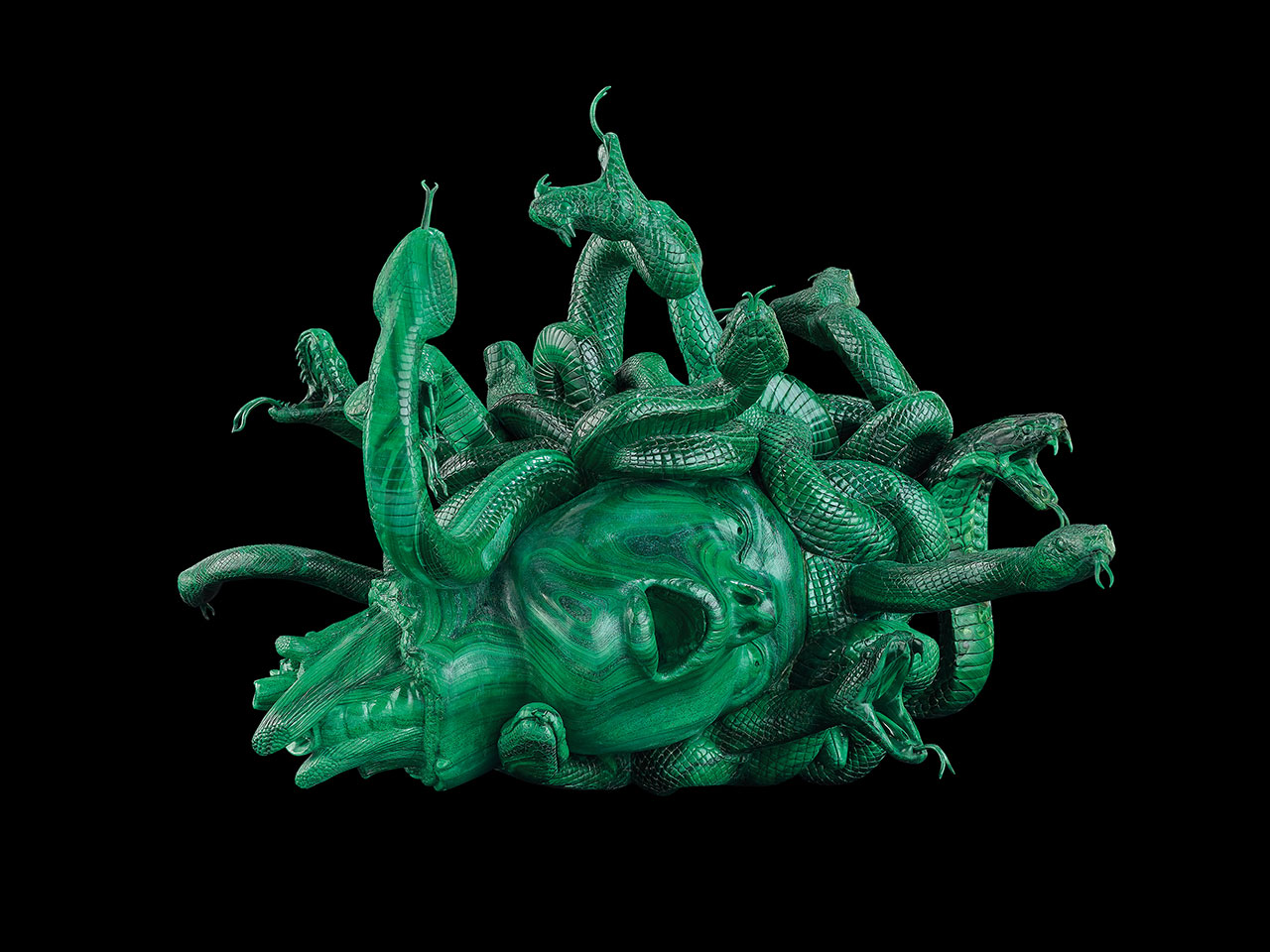 Damien Hirst, The Severed Head of Medusa. Photographed by Prudence Cuming Associates © Damien Hirst and Science Ltd. All rights reserved, DACS/SIAE 2017.