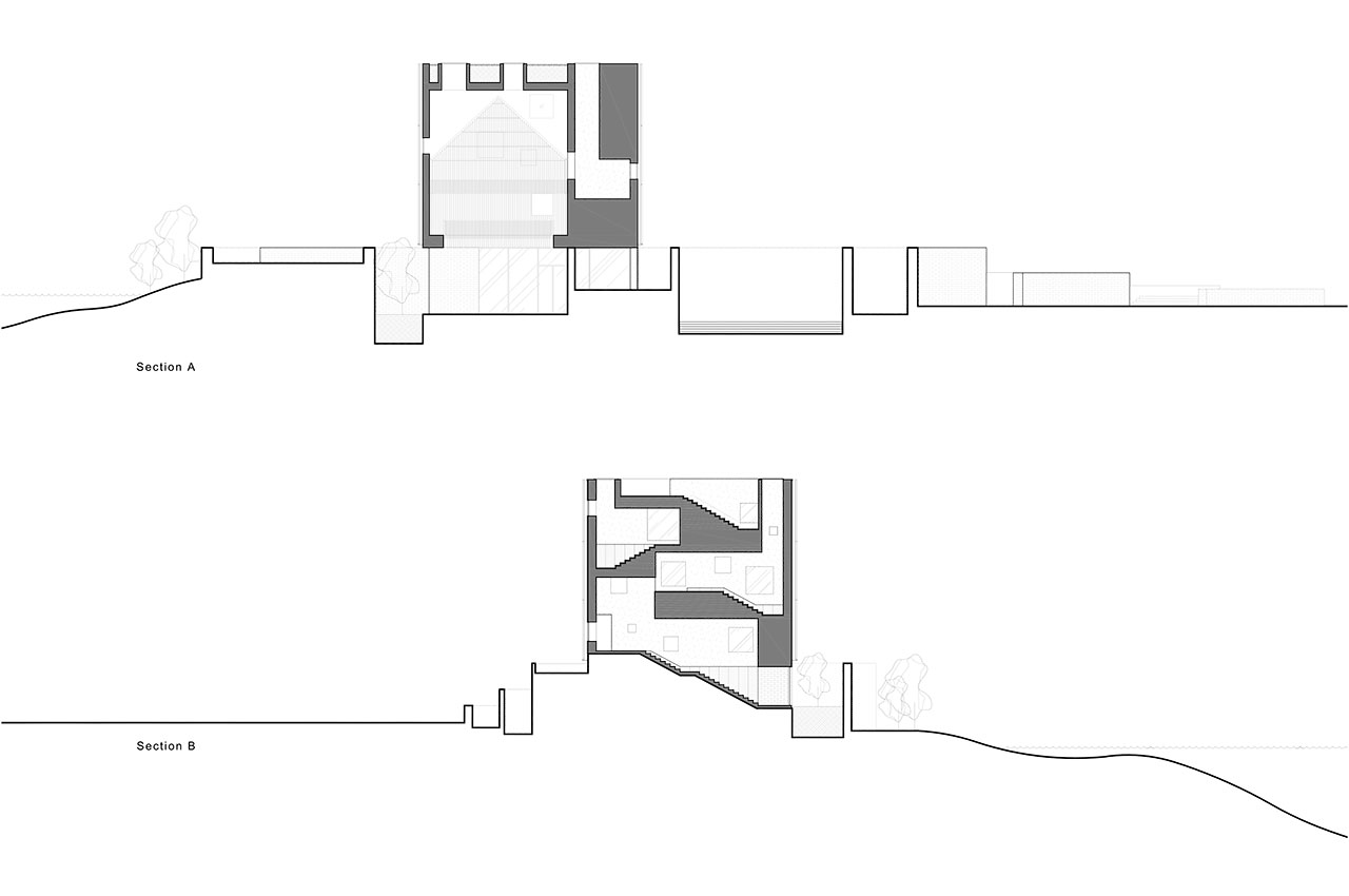 Sections © Neri&Hu Design and Research Office.