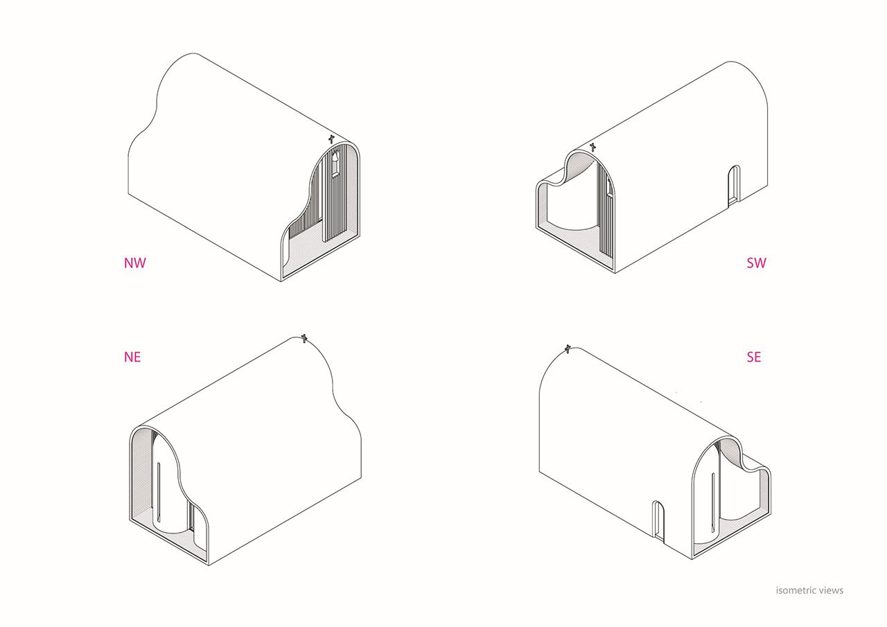 Isometric diagrams © Michalis Georgiou.