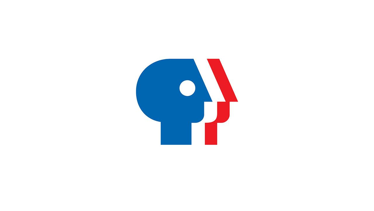 PBS (Public Broadcasting Service)logo ©Chermayeff & Geismar & Haviv.