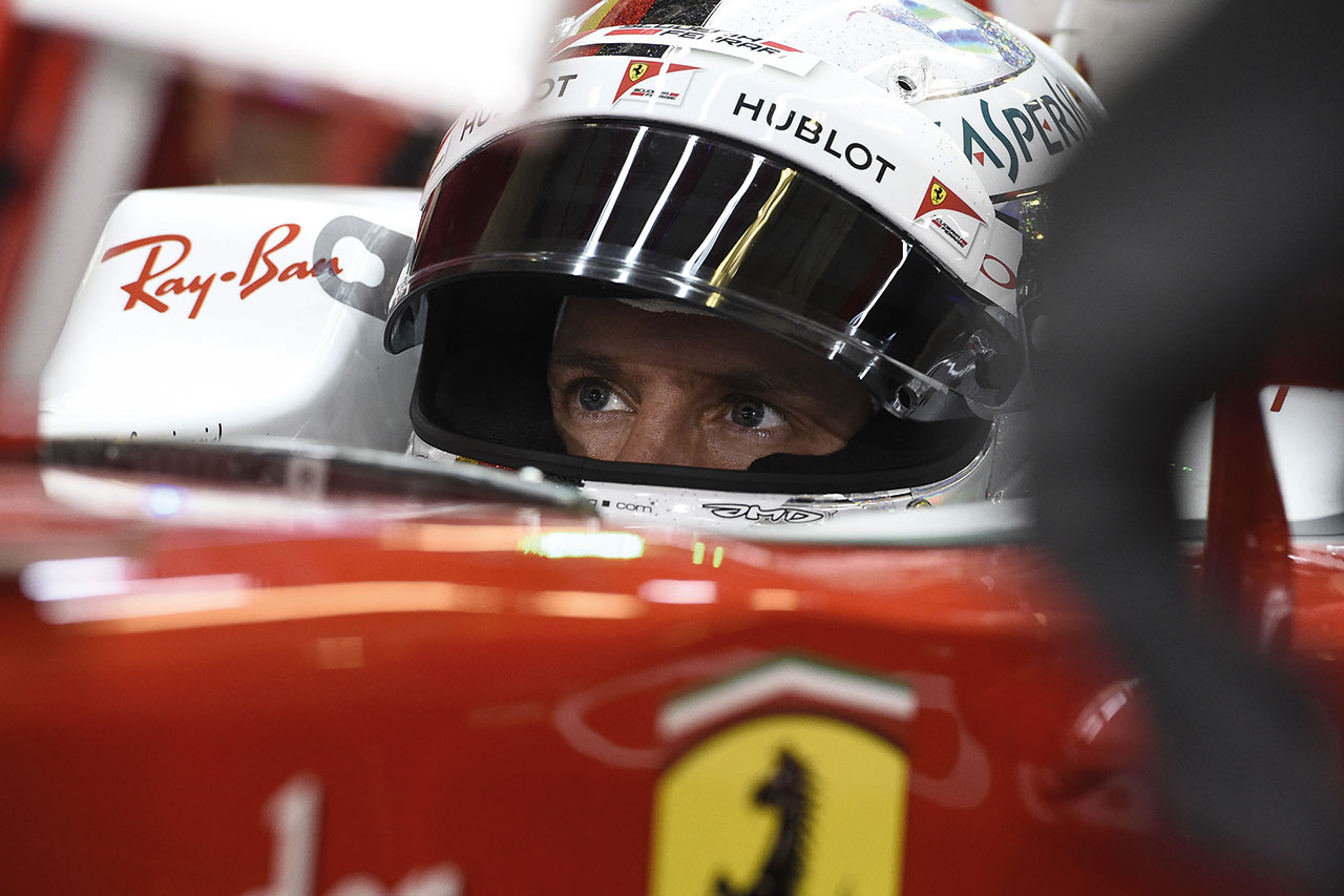 ABU DHABI GP F1 2016 - Sebastian Vettel. Photo courtesy of Ferrari.