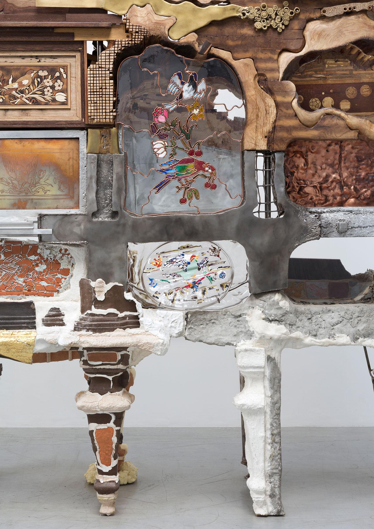Kostas Lambridis,Elemental Cabinet(detail).Photo courtesyCarpenters Workshop Gallery.