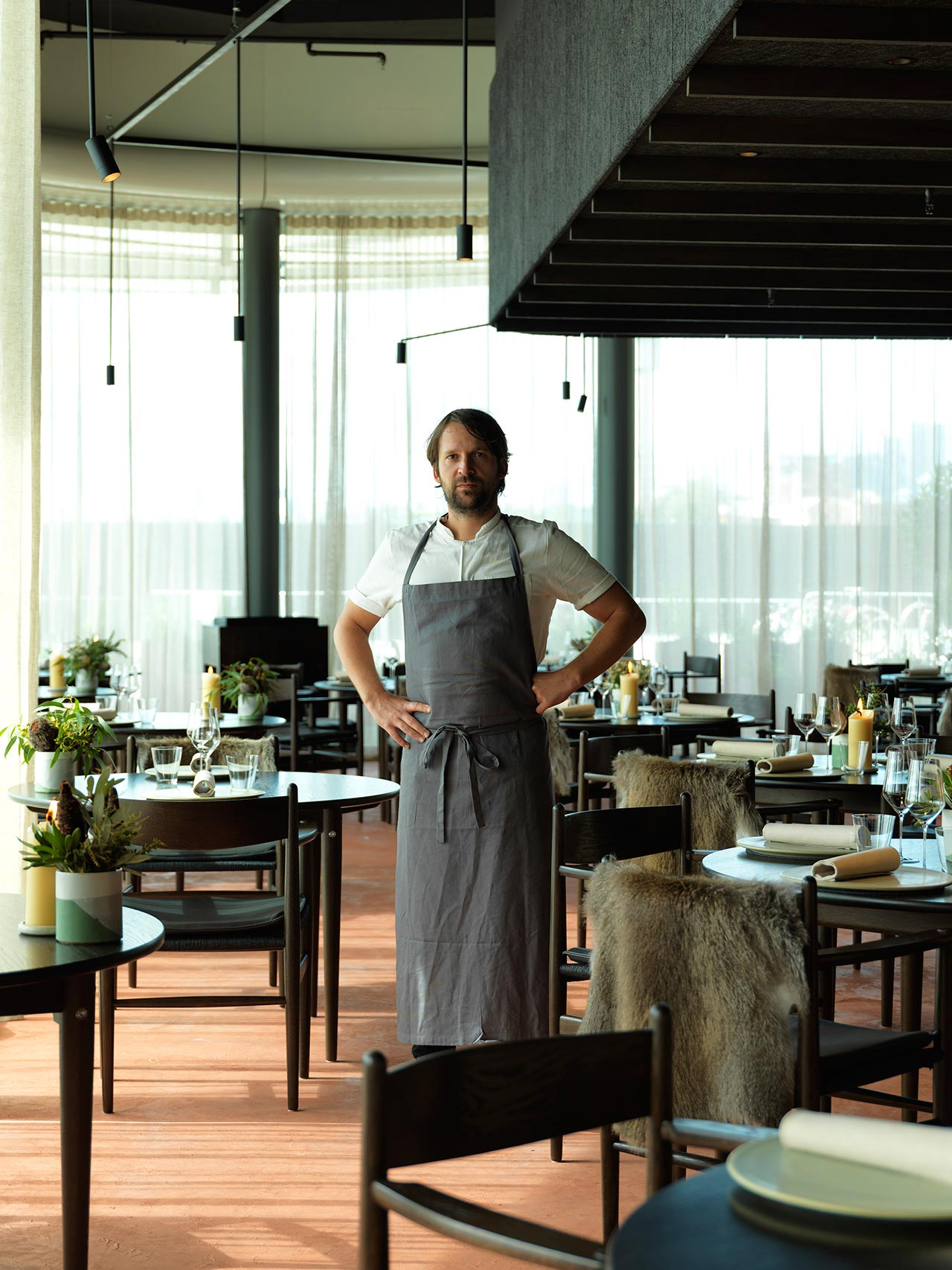 René Redzepi at Noma Pop-up restaurant in Sydney. Photo by Jason Loucas.
