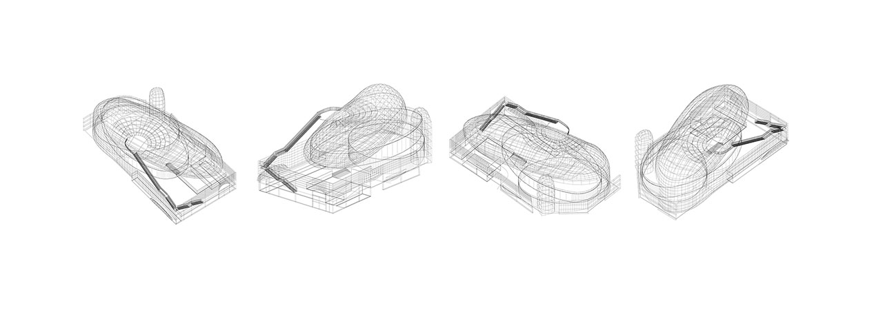 Architectural configuration © Xinjiang Wind Architectural Design & Research Institute Co.,Ltd.