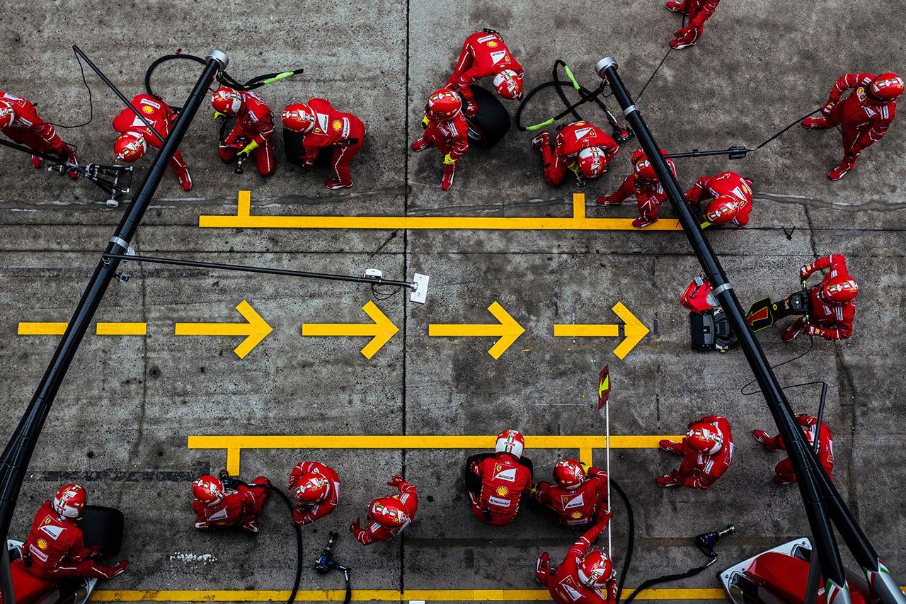 Grand Prix of China, 2017.Photo courtesy of Ferrari.