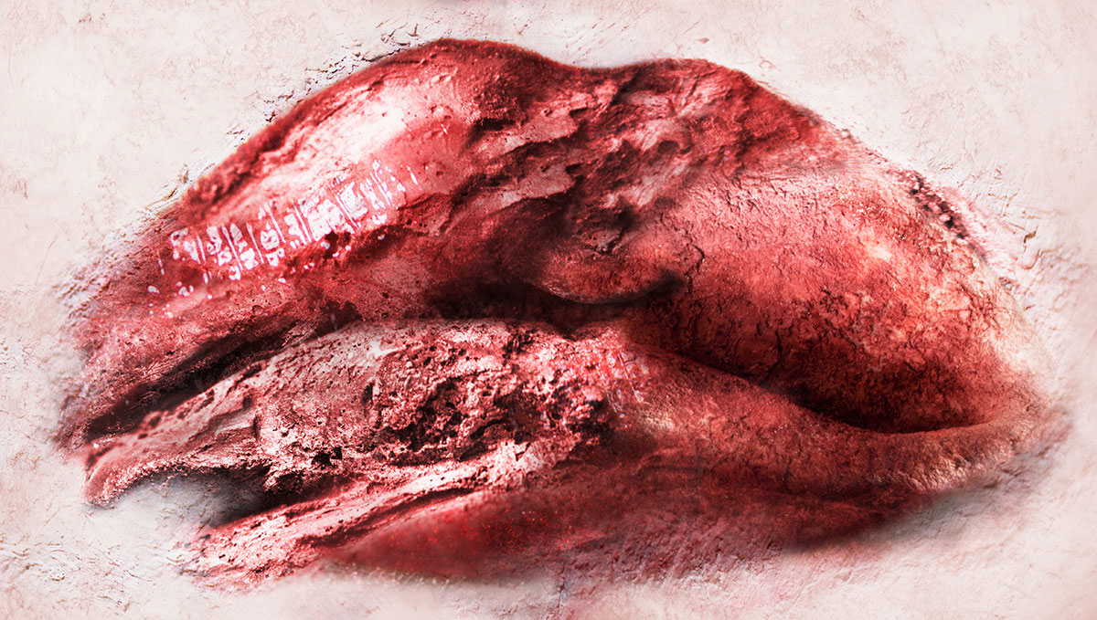 Lilia Ziamou, Lips. Courtesy Gallery7.