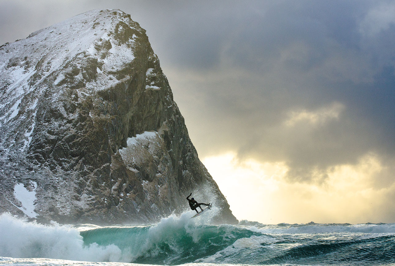 Lofoten, Norway. Photo by Chris Burkard, from 'The Great Wide Open', © Gestalten 2015.