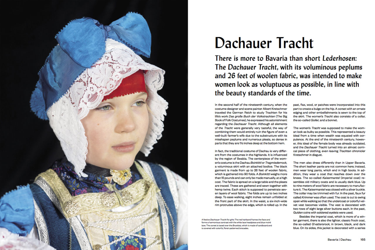 Dachauer Tracht Bavaria, Dachau Photo by Gregor Hohenberg from 'Traditional Couture' © Gestalten 2015.