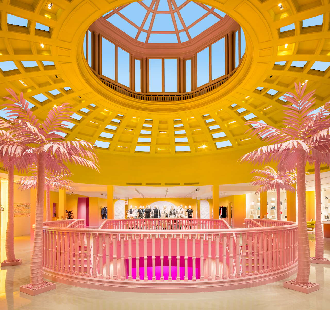 Pop-up store curated by Sarah Andelman. Photo by Brad Dickson, courtesy of Louis Vuitton.