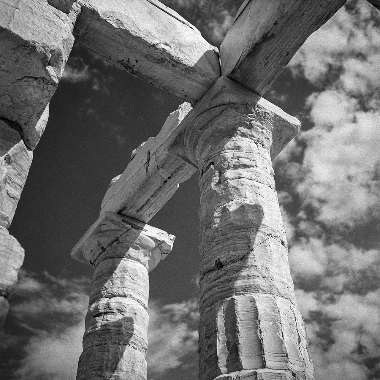 Sounion. The Temple of Poseidon. Photo © Robert McCabe.
