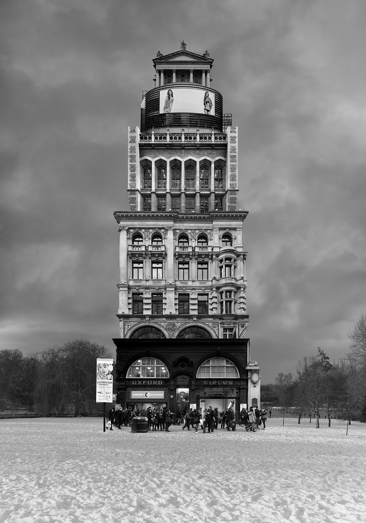 Beomsik Won,Archisculpture 027, 2014. Archival pigment print, 70x49 or 100x70 or 142x100cm.