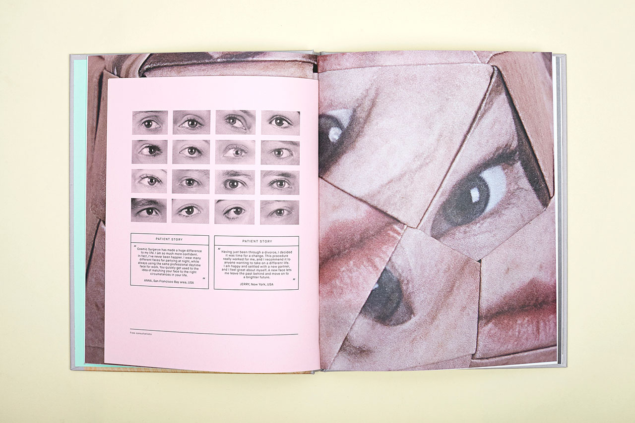 Cosmic Surgery, book spread © Alma Haser.