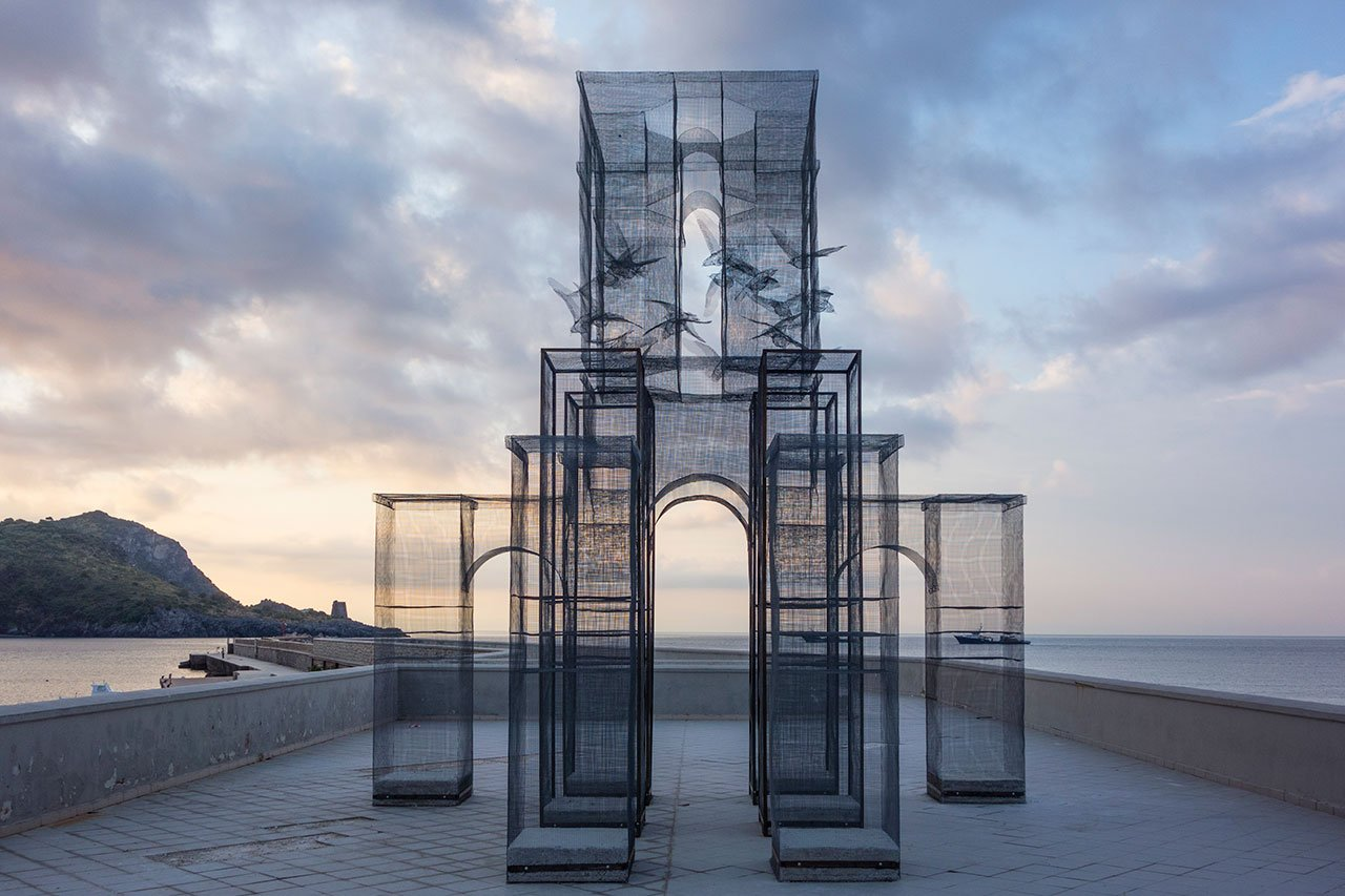 Edoardo Tresoldi, Incipit (2015). Photo © Fabiano Caputo.
