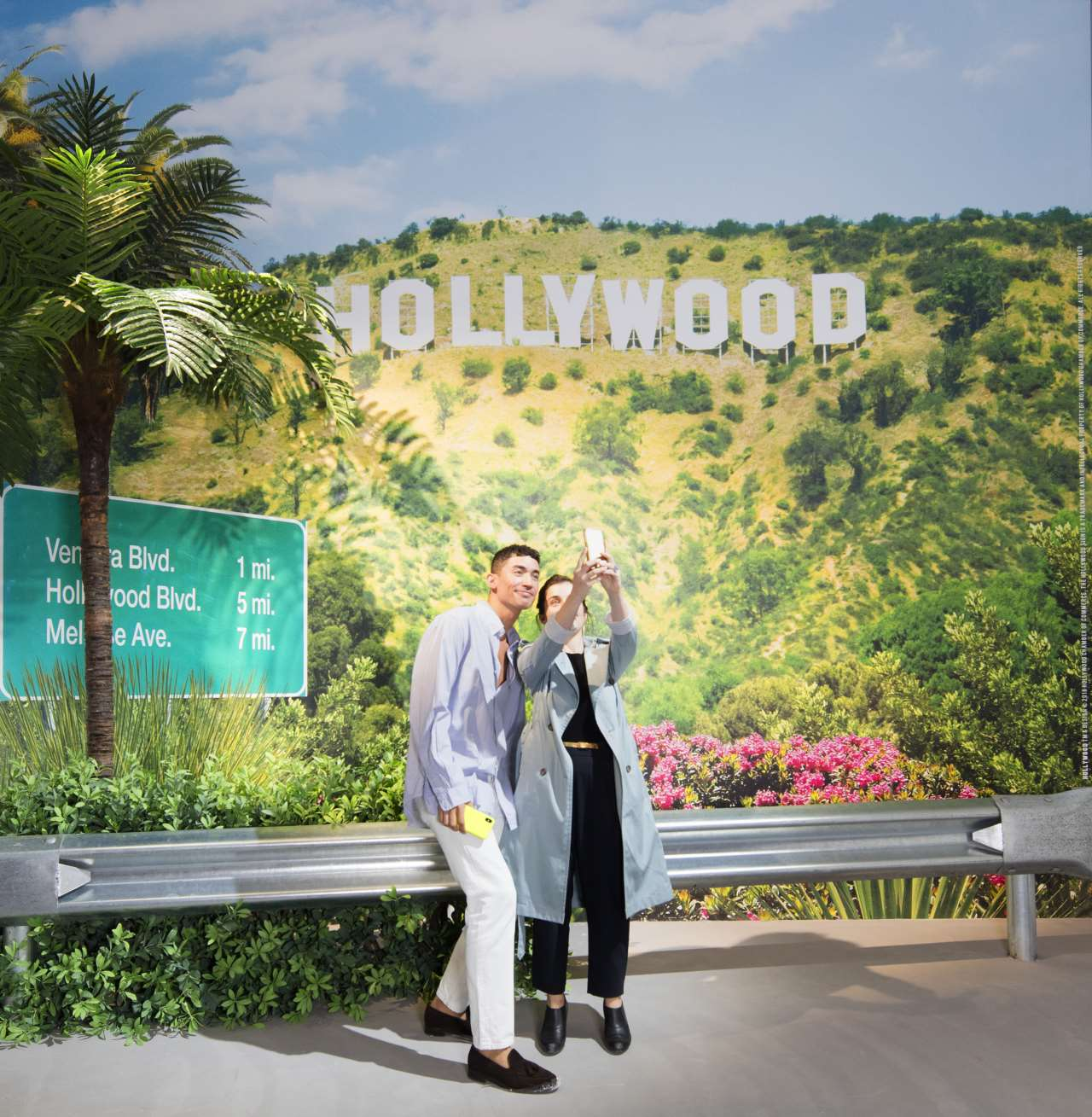 The Artist is Present, Shanghai 2018.Exhibition View. HOLLYWOOD TM & Design © 2018. Hollywood Chamber of Commerce. The Hollywood Sign is a trademark and intellectual property of Hollywood Chamber of Commerce. All Rights Reserved.