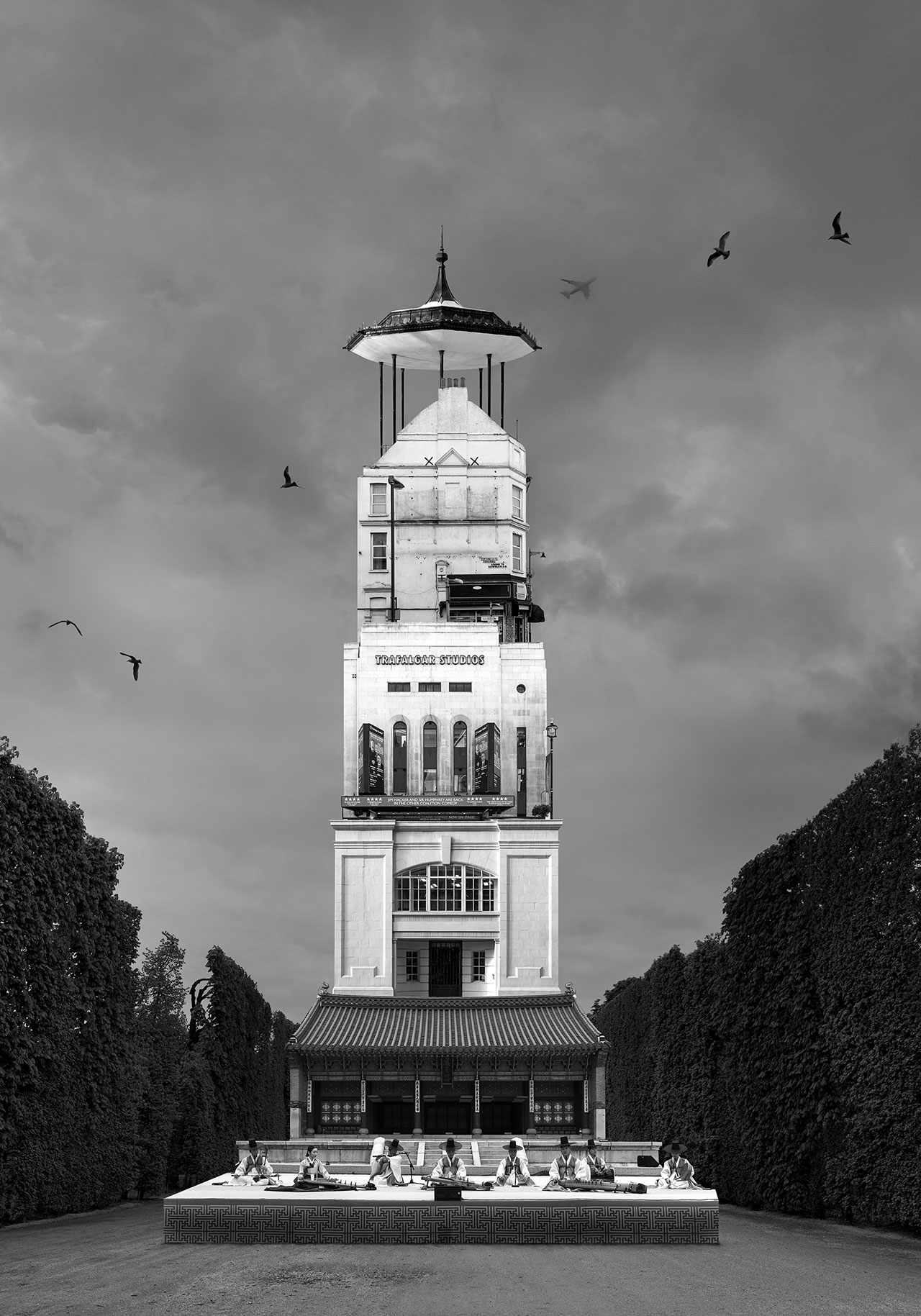 Beomsik Won,Archisculpture 031, 2014. Archival pigment print, 100x70 or 171x120cm.