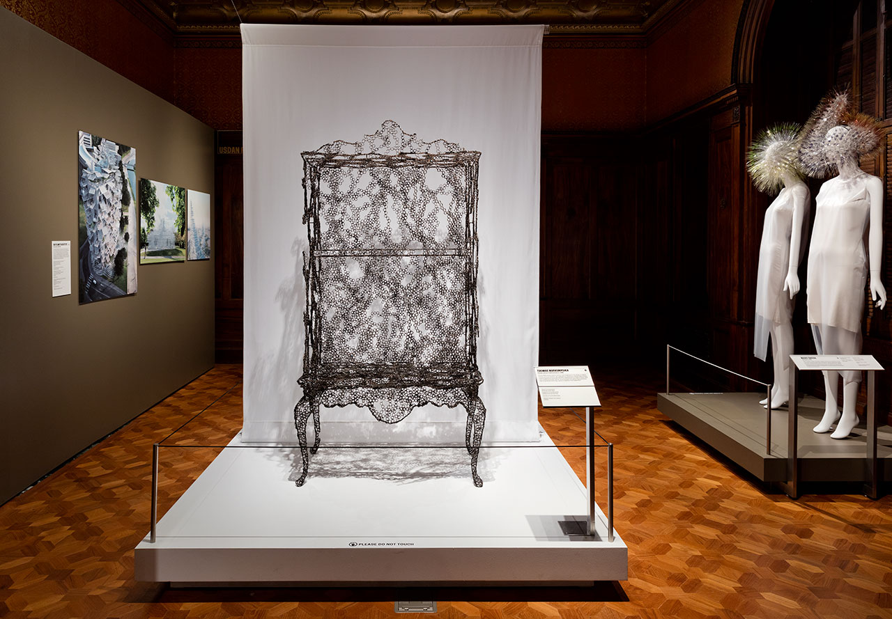 "Installation view of ""Beauty—Cooper Hewitt Design Triennial."" Photo by Matt Flynn © 2016 Cooper Hewitt, Smithsonian Design Museum."
