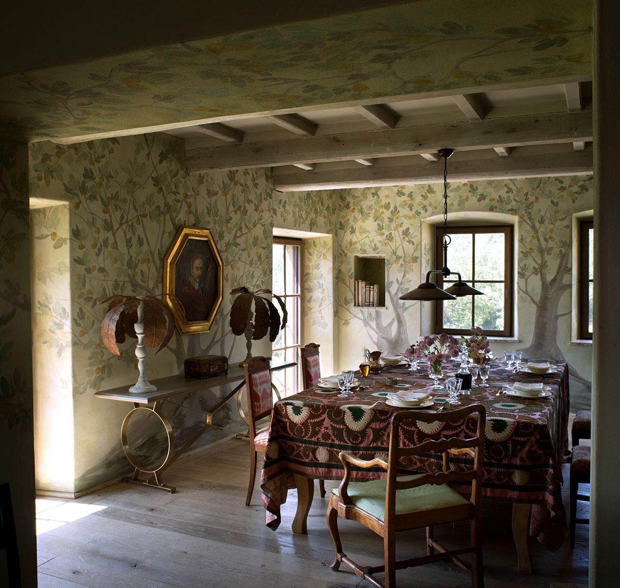 Castello di Reschio - Interiors.Photo ©Reschioestate.