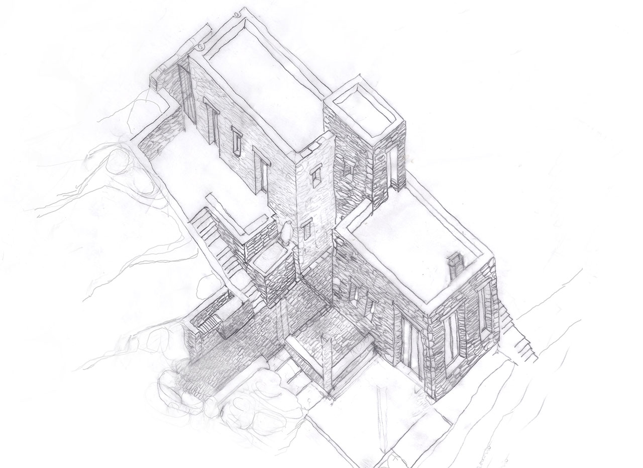 Sketch © Cometa Architects.