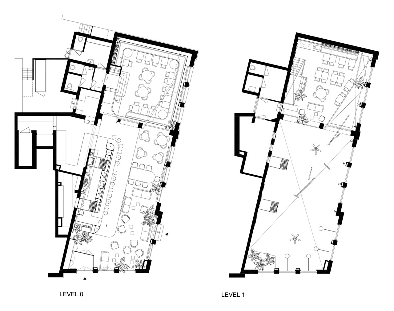 Floor plans © Studio Modijefsky.