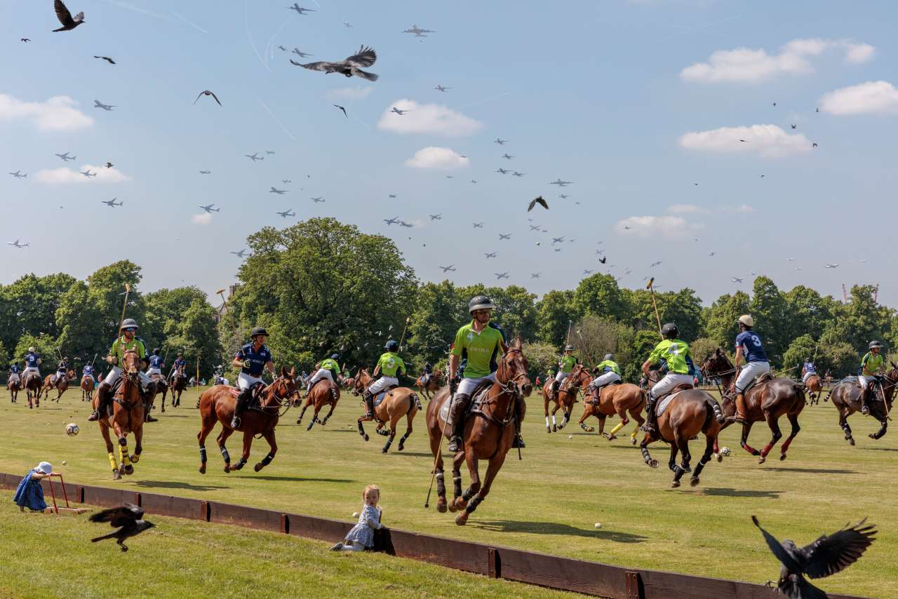 Pelle Cass, Ham Polo Club from 'Crowded Field Series'. © Pelle Cass.
