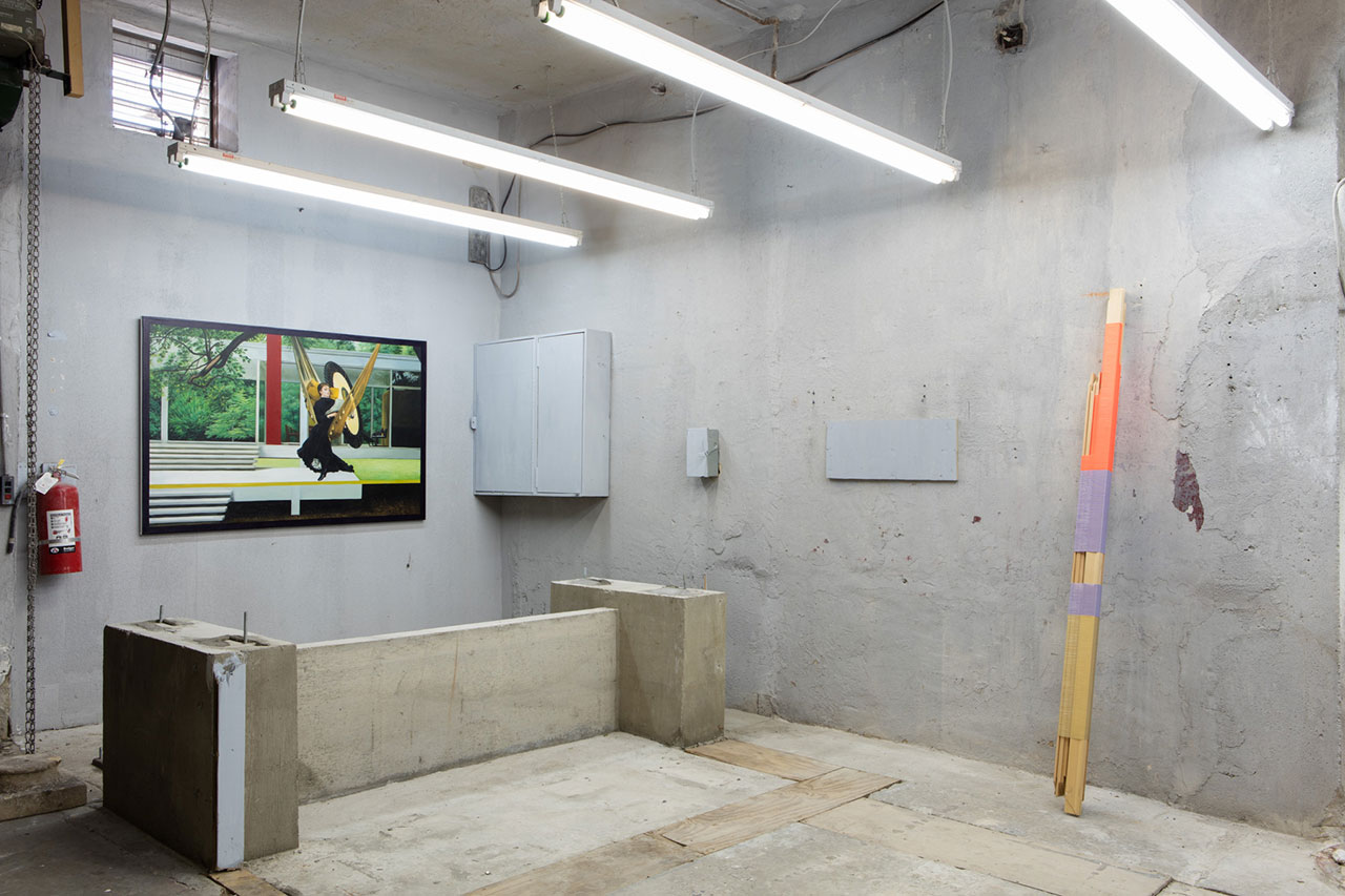 Paradise Lost, 2015. Installation view. Courtesy PEANA Projects.