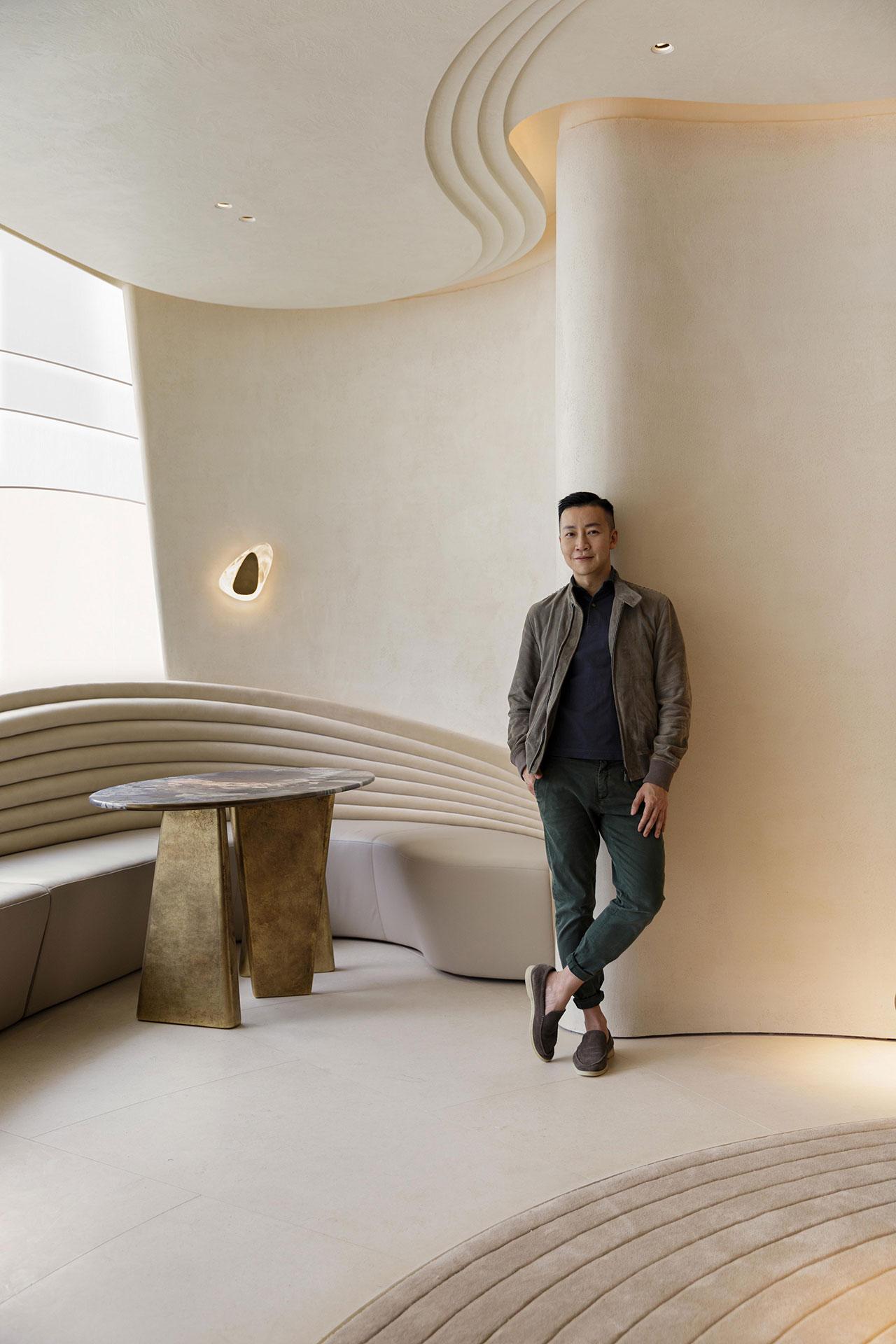 NCDA designer Nelson Chow. Photo by Harold De Puymorin