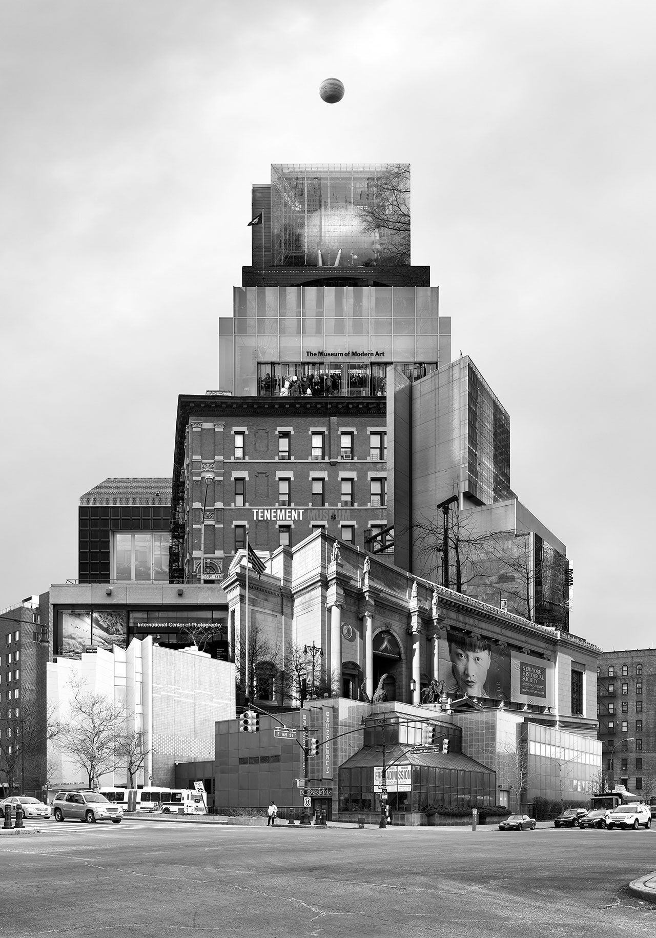 Beomsik Won,Archisculpture 043, 2015. Archival pigment print, 100x70 or 171x120cm.
