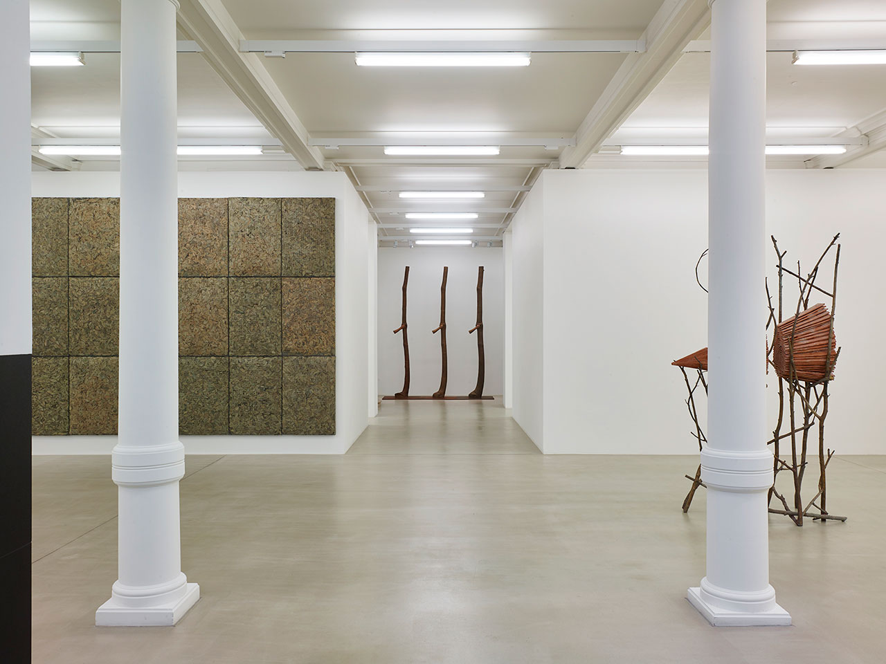 Giuseppe Penone, Fui, Saró, Non Sono (I was, I will be, I am not). Installation view from Marian Goodman Gallery London. Courtesy the artist and Marian Goodman Gallery.