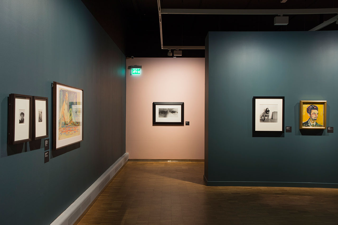 Mapplethorp + Munch exhibition at the Munch Museum, Oslo (2016). Installation view.Photo by Ove Kvavik. Courtesy the Munch Museum.