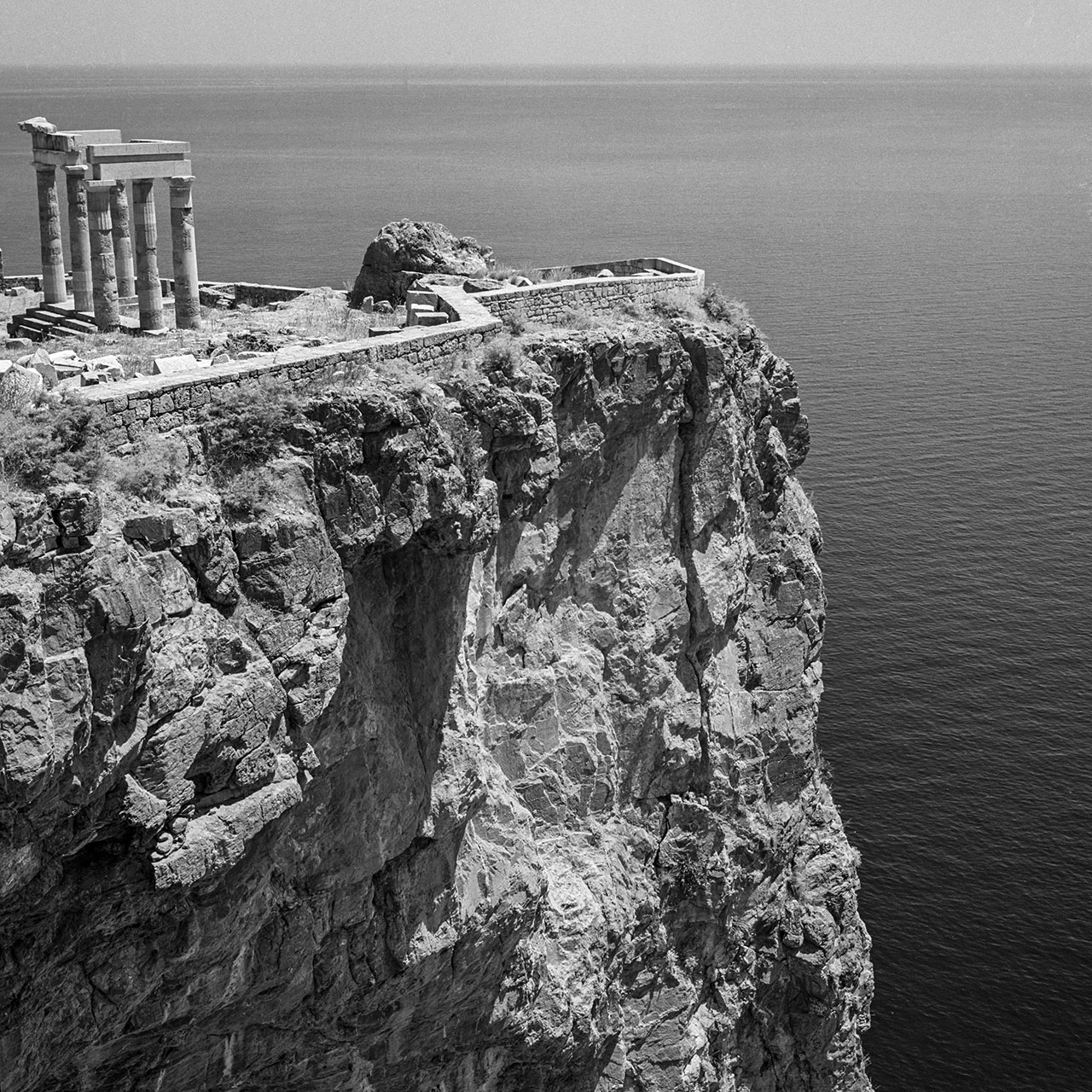 Lindos 1954. Photo © Robert McCabe.