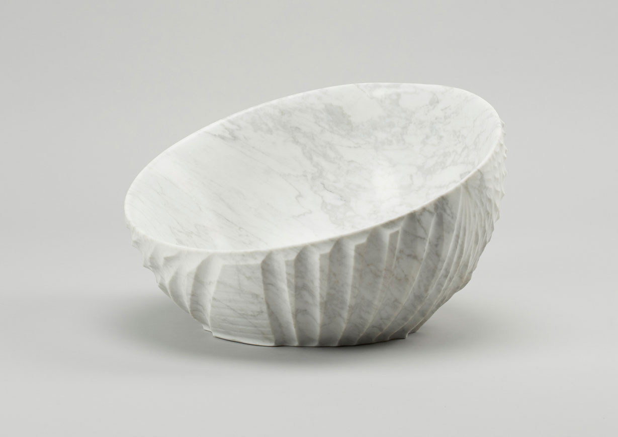 Lapicida, Erosion Bowl, 268 x 439 mm. Photo via Alpha - Kilo.