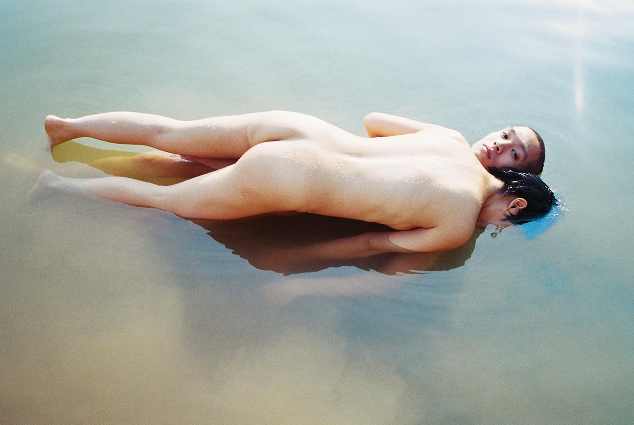 Photo by Ren Hang,from UNLOCKED © Atopos cvc, Athens.
