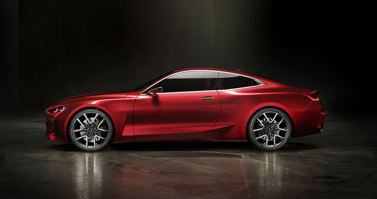 BMW Concept 4. Courtesy BMW Group.