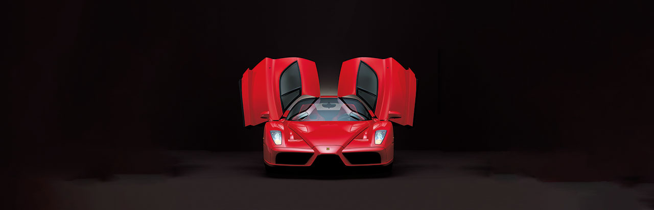 Ferrari Enzo, 2002. Photo courtesy of Ferrari.
