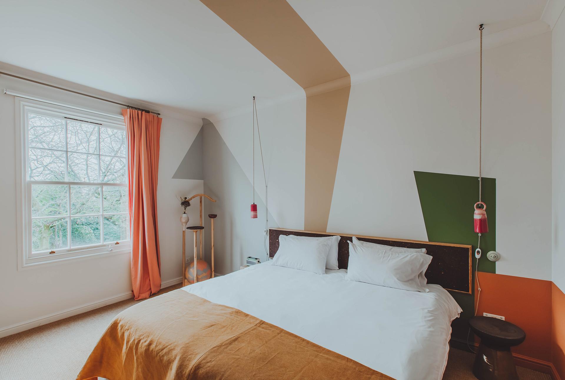 Guest room. Photo by Adam Firman.