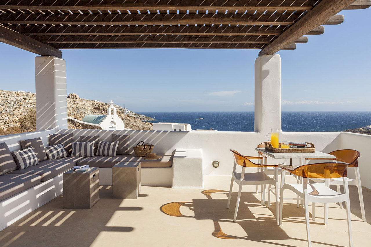 Villa Marion, Agios Ioannis, Mykonos. Photo © Kinglike Concierge.