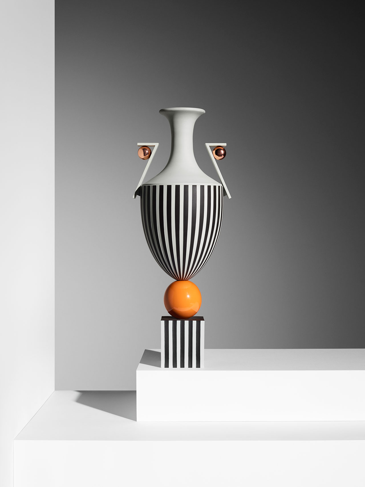 Wedgwood by Lee Broom, Bowl On Orange Sphere. Photo by Michael Bodiam.