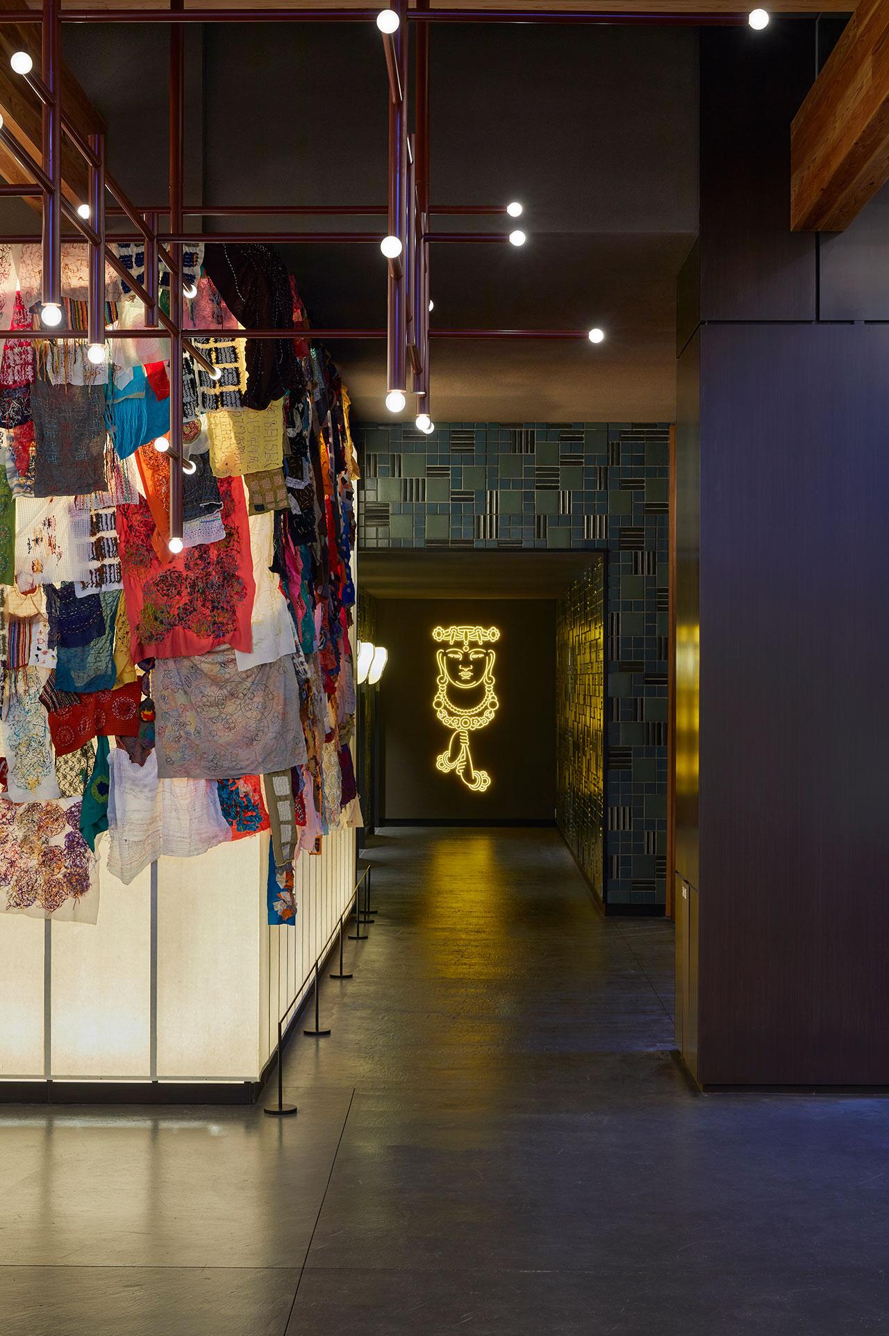 Ace Hotel Kyoto. Elevator lobby. Photo by Yoshihiro Makino.