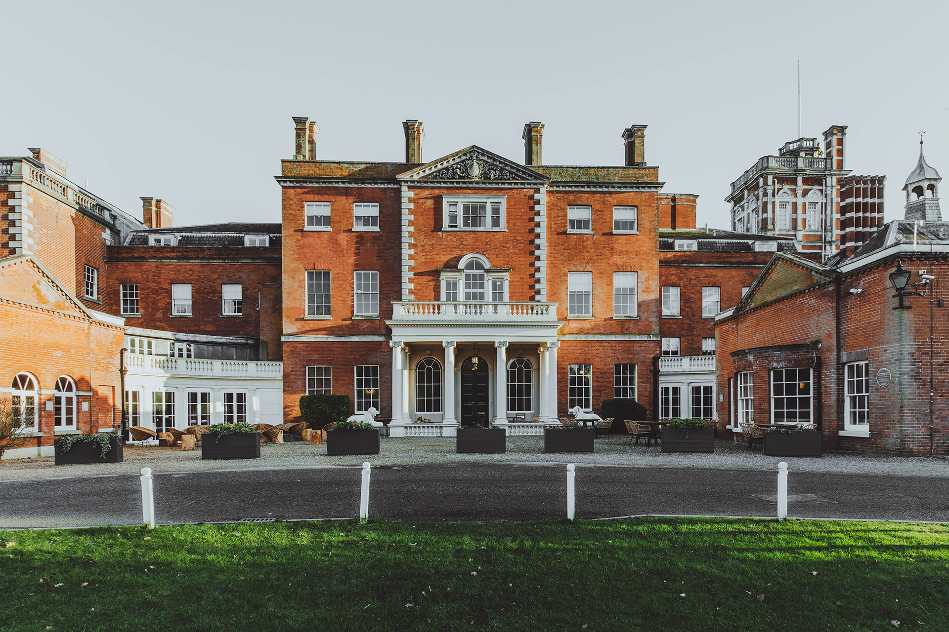 Birch is housed in a Grade II-listed Georgian mansion. Photo by Adam Firman.