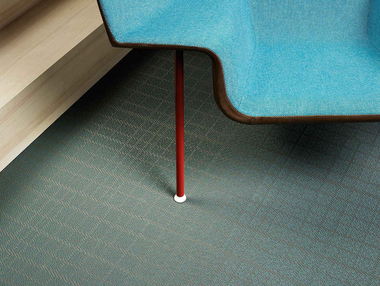 BOLON BY YOU – Grid Grey Dove Blue. Photo by Magnus Torsne.