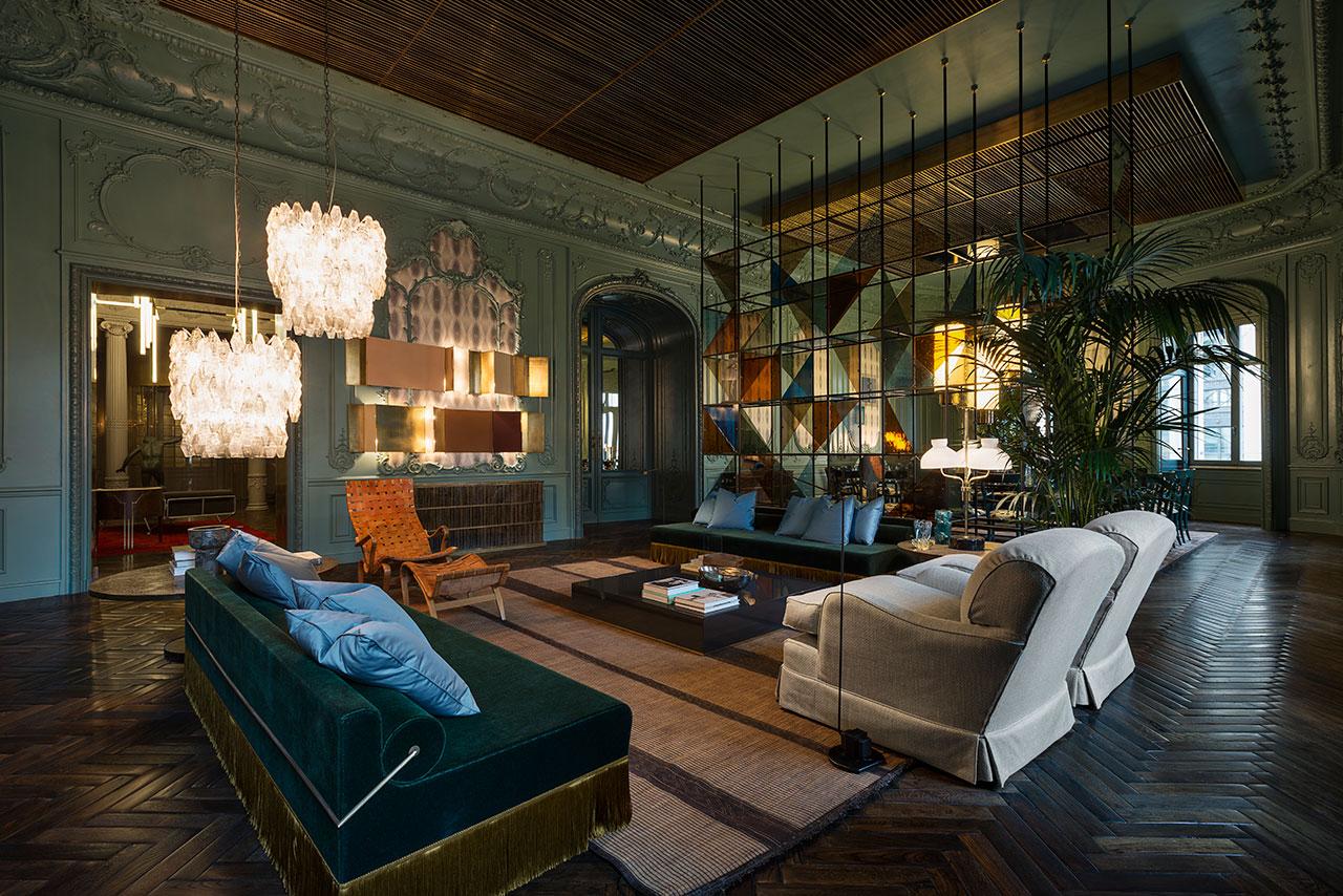 Fendi Palazzo Privé Living Room.Photo ©Fendi.