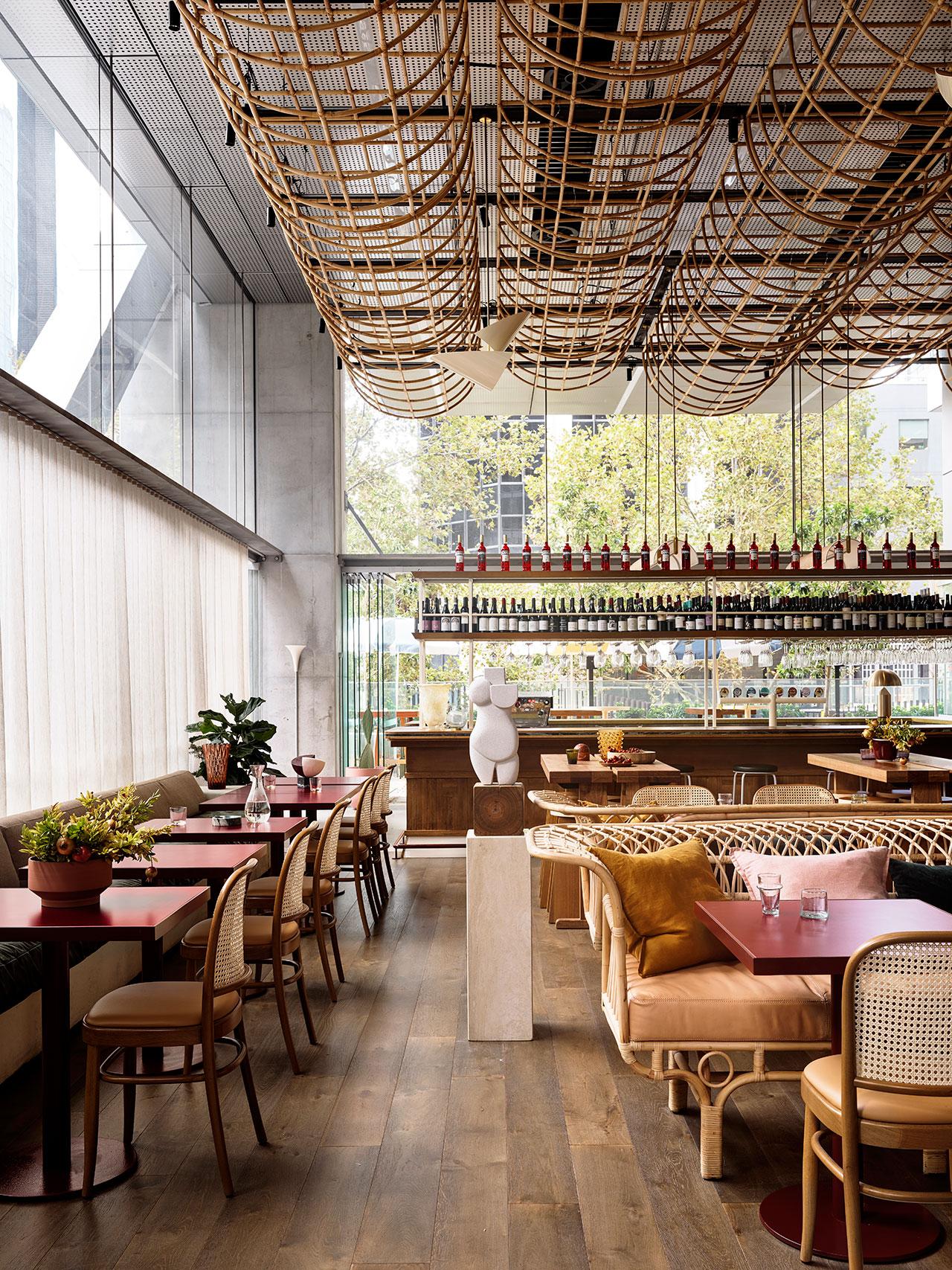 Glorietta restaurant by Alexander & CO. Photo by Anson Smart.