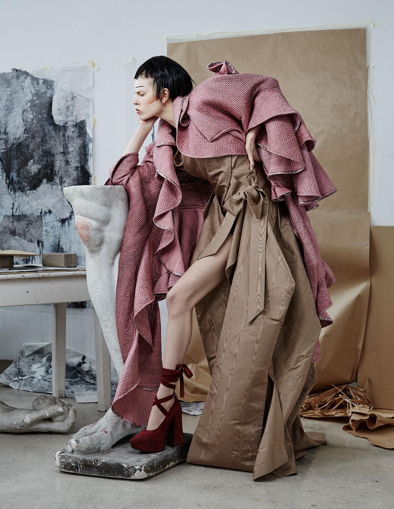 Vivienne Westwood FW 15-16, Photography René Habermacher, Story fashion editor / Curator Filep Motwary. © Modemuseum Hasselt.