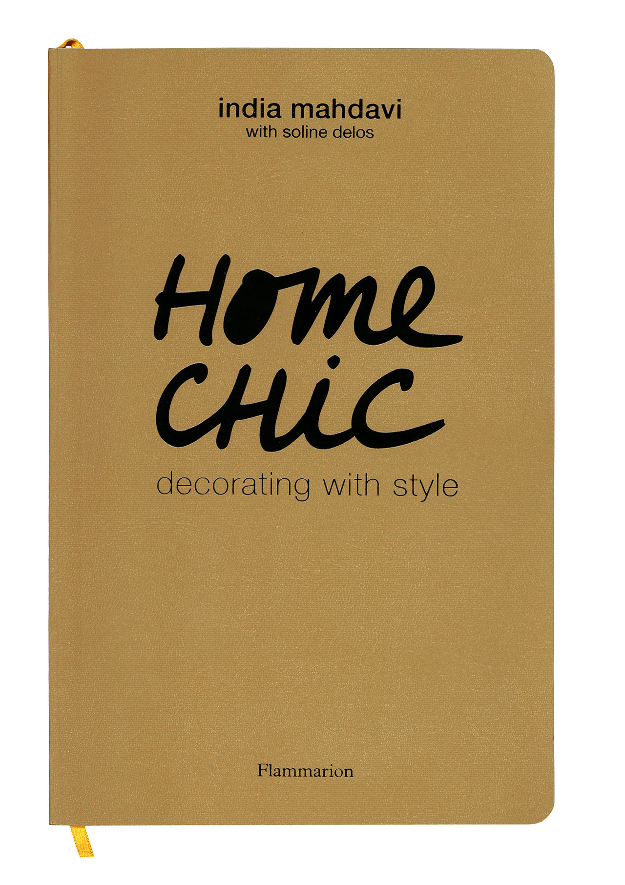 HOME CHIC book cover, photo © Flammarion.