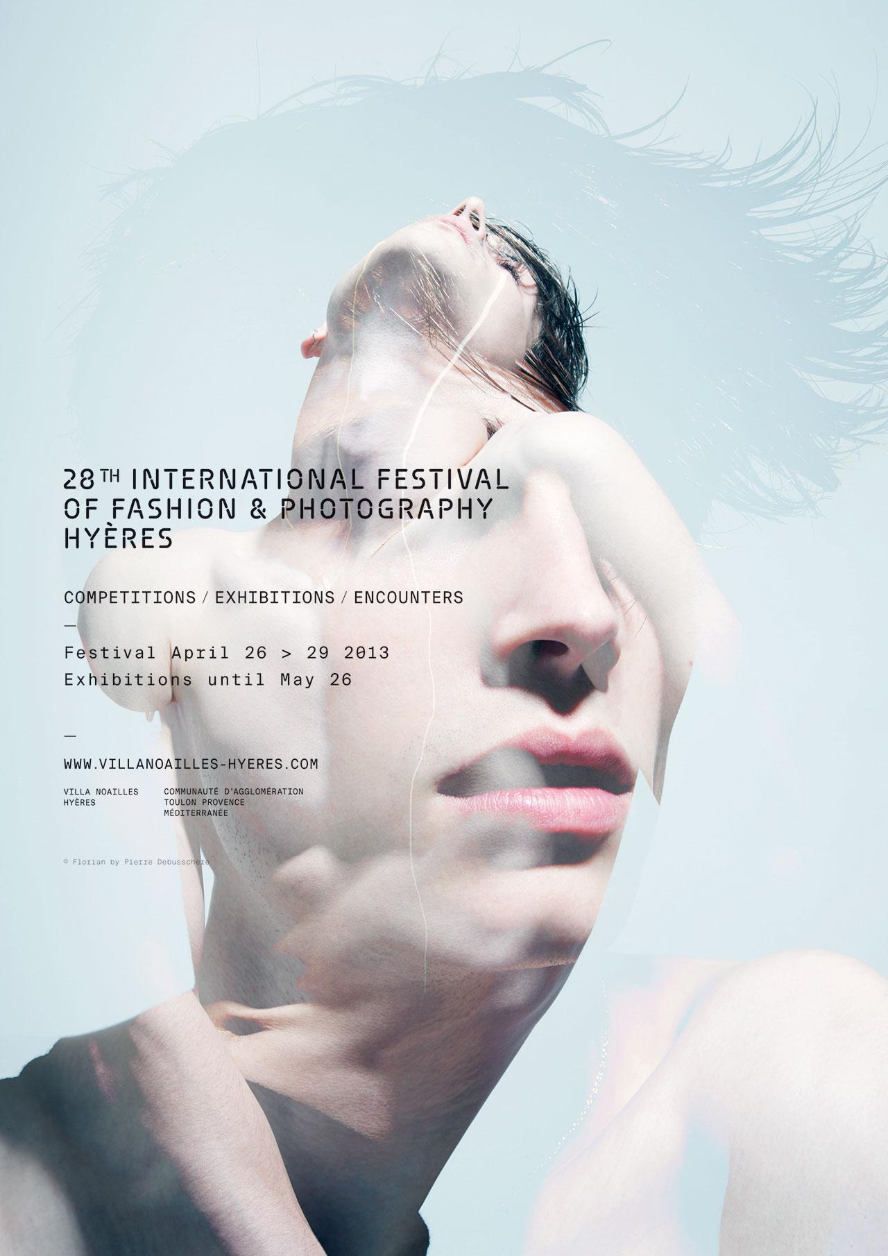 The poster of HYÈRES 2013, Florian © Pierre Debusschere.