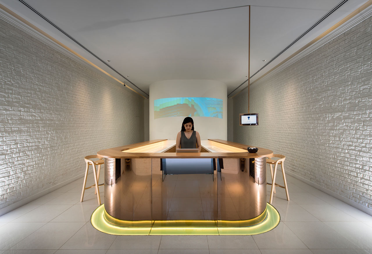 Reception Area, photo © Macalister Mansion, Design Hotels.