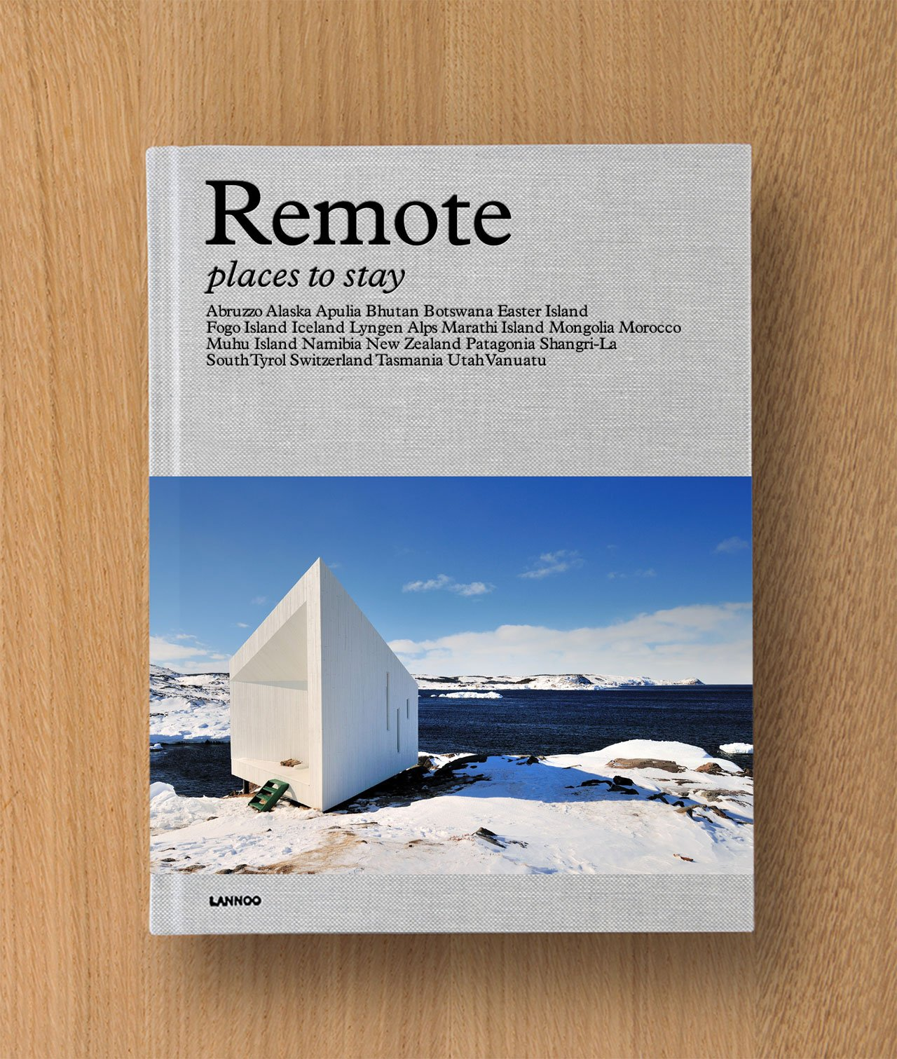 REMOTE book cover, photo © David De Vleeschauwer.