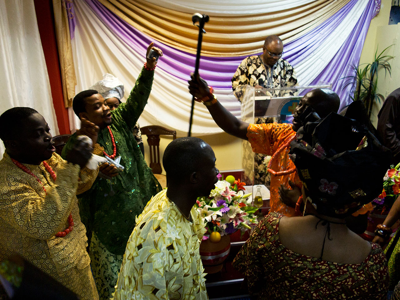 One Accord International Gospel Ministries (Nigerian Evangelical), Kypseli © Tassos Vrettos.
