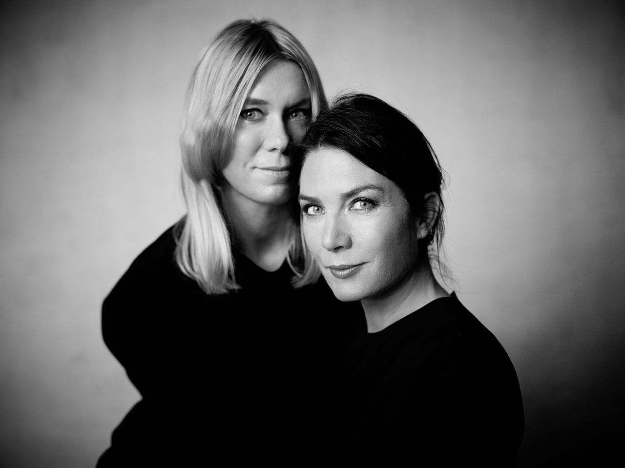 Marie and Annica Eklund, photo © Tobias Regell for 'The Story Of BOLON' book