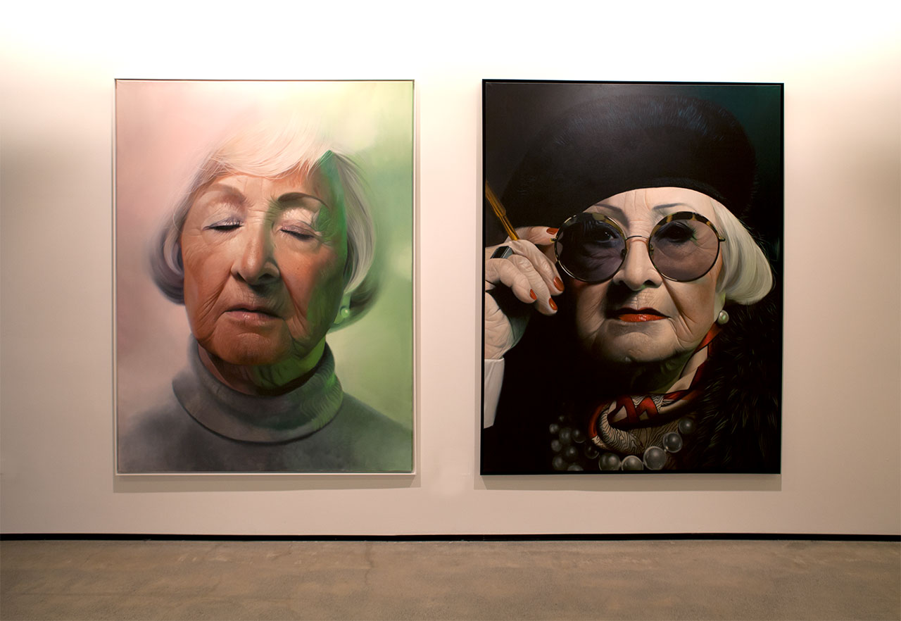 TRANSFORMATION byMike Dargas.Installation view. Courtesy C24 Gallery and the artist.